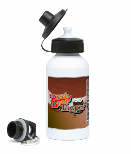 Root Beer Sports Drinks Water Bottle Based on Retro Arcade Game Tapper